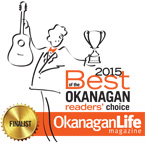 FINALIST - Best of the Okanagan Readers' Choice Award 2015