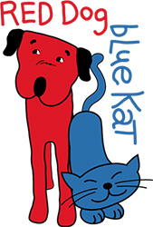 red-dog-blue-cat logo169x250